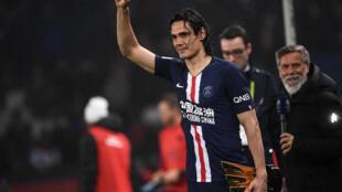 Edinson Cavani has won six Ligue 1 titles since joining PSG in 2013