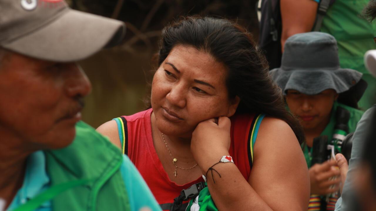 Martha Liliana Piaguaje tiene 35 años y es gobernadora del resguardo Santa Cruz de Piñuña Blanco desde 2017.