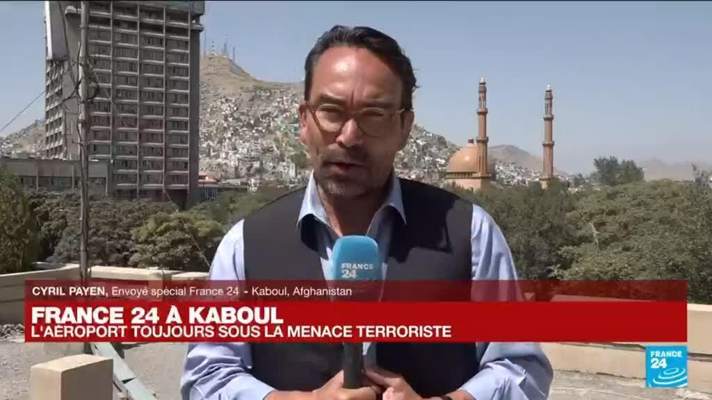 """2021-08-28 08:05 Afghanistan : """"la situation est toujours tendue dans le centre de Kaboul"""""""