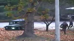 Les images de la fuite du transfuge ont été dévoilées à la presse le 22 novembre 2017, à Séoul.