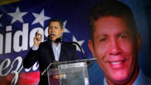Henri Falcón representa una oposición a la candidatura de Nicolás Maduro a pesar de no contar con el respaldo de la Mesa de la Unidad Democrátic.
