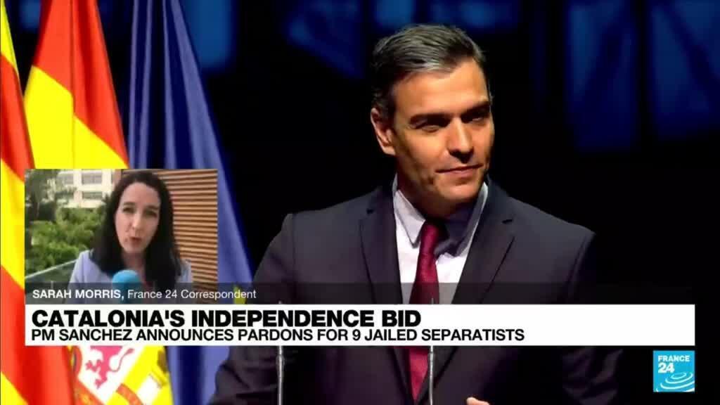 2021-06-21 18:05 'Considerable political gamble': Spain PM announces pardons for 9 jailed separatists