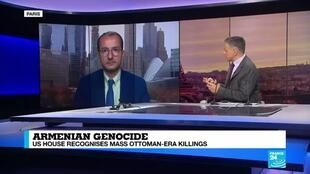 """2019-10-30 18:06 """"Washington has used the Armenian genocide as a bargaining chip with Turkey"""""""