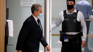 ساركوزي في  المحكمة يوم الخميس 26/11/2020