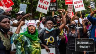 kenya afrique violences policieres