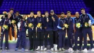 Les USA remportent les mondiaux de Budapest devant les Français et les Italiens le 23 juillet 2019