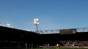صورة لملعب فيكاراج رود التابع لنادي واتفورد الإنكليزي لكرة القدم في 18 كانون الثاني/يناير 2020.