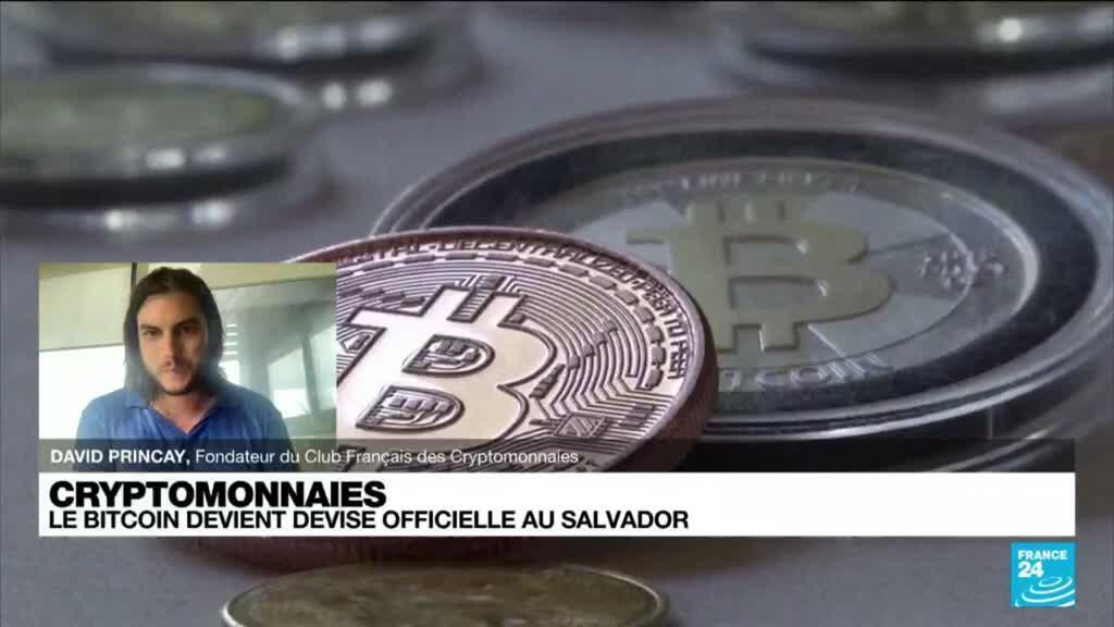 2021-09-07 17:09 Salvador : le bitcoin devient devise officielle