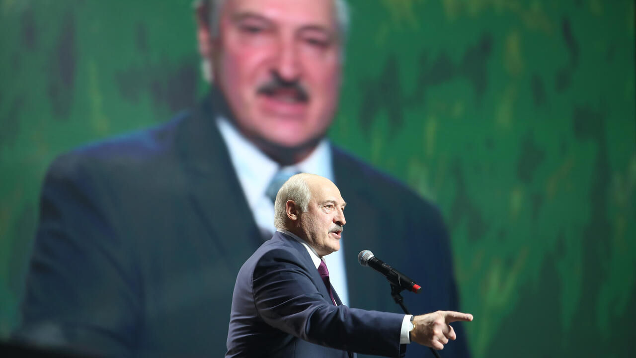 Belarus strongman Lukashenko says overseas 'blitzkrieg' failed