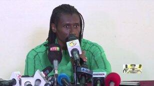 مدرب السنغال أليو سيسيه قبيل انطلاق كأس الأمم الأفريقية 2019.