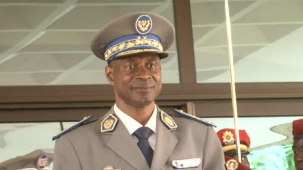 Le général Gilbert Diendéré, leader de la tentative de coup d'État au Burkina Faso.