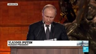 "2020-01-23 14:19 Putin: ""The memory of the Holocaust will only become a lesson and a warning if its comprehensive"""