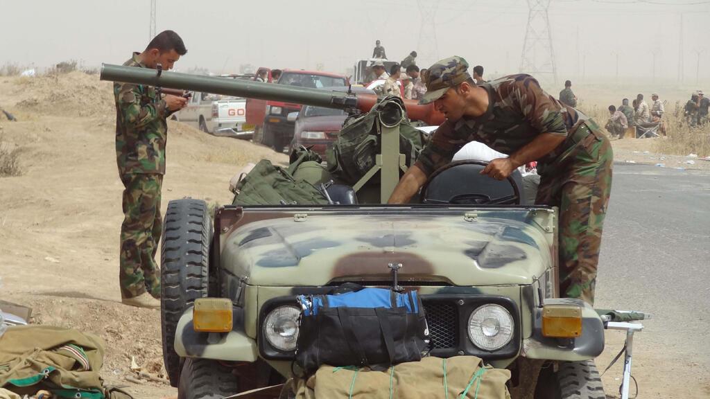 """قوات """"البشمركة"""" الكردية العراقية"""