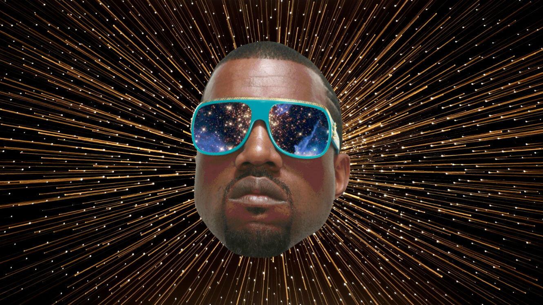 L'explosion d'une étoile, métaphore de l'histoire de Kanye West.