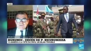 2020-06-10 10:05 Décès du président Pierre Nkurunziza au Burundi : trois mandats et un bilan politique trouble