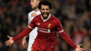 محمد صلاح سجل 29 هدفا مع ليفربول منذ بداية الموسم 2018/2017