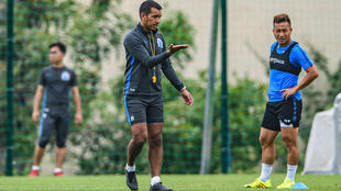 Guangzhou R&F coach Giovanni van Bronckhorst lost his first match in charge in China