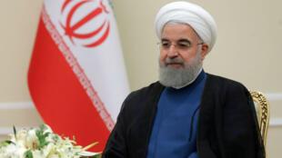 Le président iranien Hassan Rohani a annoncé la fin de l'EI depuis Téhéran.