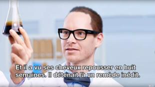 Capture d'écran de la première vidéo