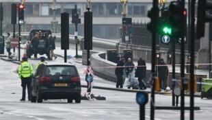 موقع الهجوم على مبنى البرلمان الذي خلف خمسة قتلى وعشرات الجرحى وسط لندن