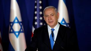 رئيس الوزراء الإسرائيلي بنيامين نتانياهو في شريط فيديو، 25 آذار/مارس 2019