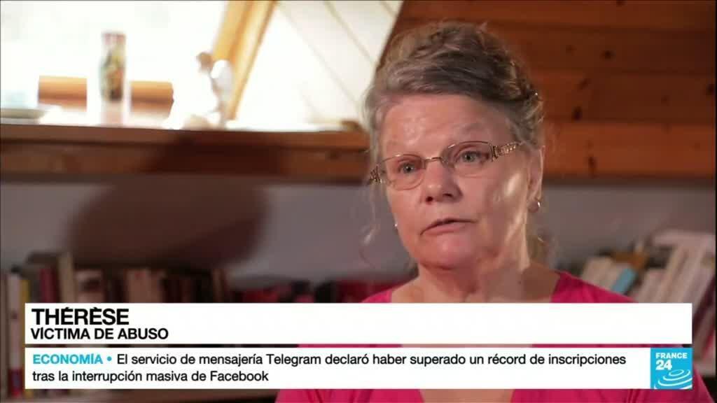 2021-10-06 01:01 Thérèse es una de las más de 200.000 víctimas de abuso sexual en la Iglesia francesa