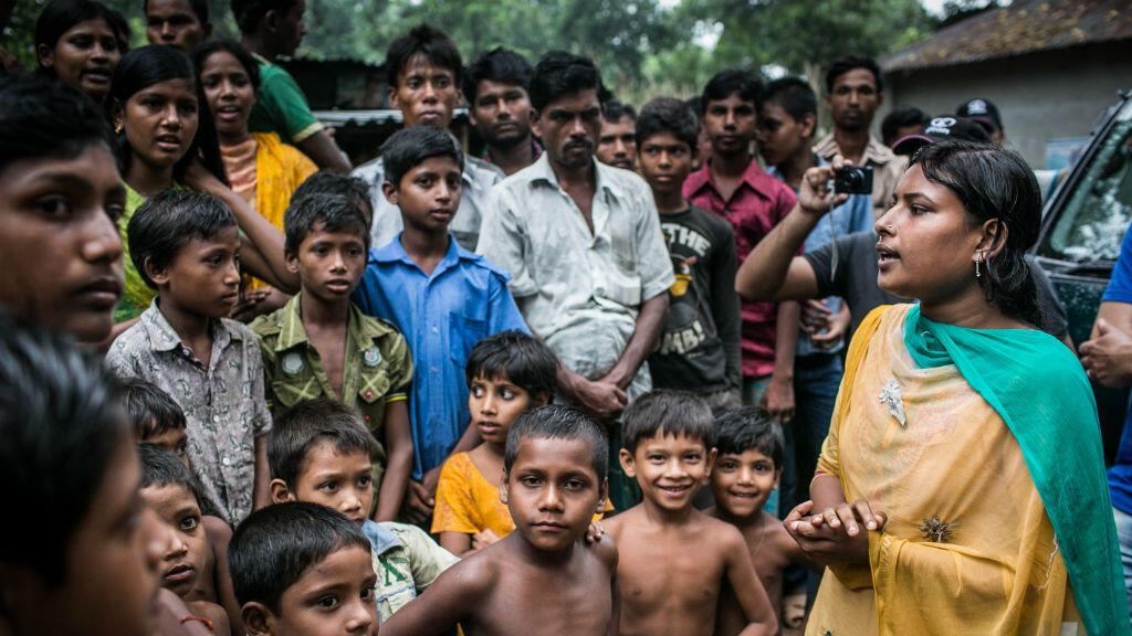 رادا راني تناضل ضد زواج القاصرات في بنغلادش. مهمة كبيرة تتضمن إقناع النساء.