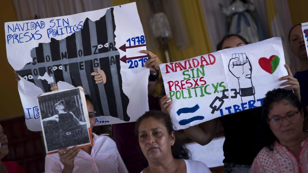 Nicaragua Madres Huelga Hambre