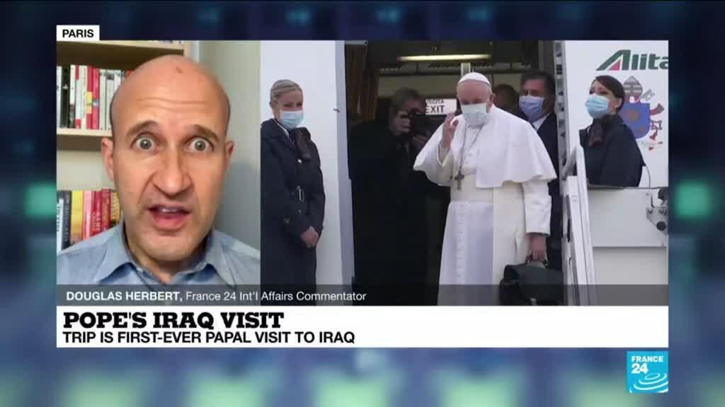 2021-03-05 11:01 Pope's Iraq visit: Historic trip begins despite virus, security concerns