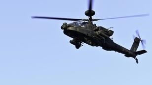 India will buy six AH-64E Apache helicopter, like this one pictured in 2017