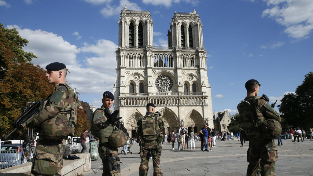 Suspected female jihadists on trial for botched terror attack on Paris's Notre-Dame Cathedral