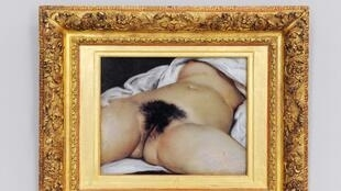 Facebook treated a post of Gustave Courbet's 'The Origin of the World' as pornography