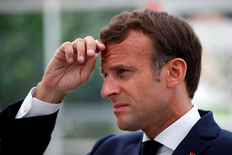 Le président français, Emmanuel Macron, le 22 avril 2020.