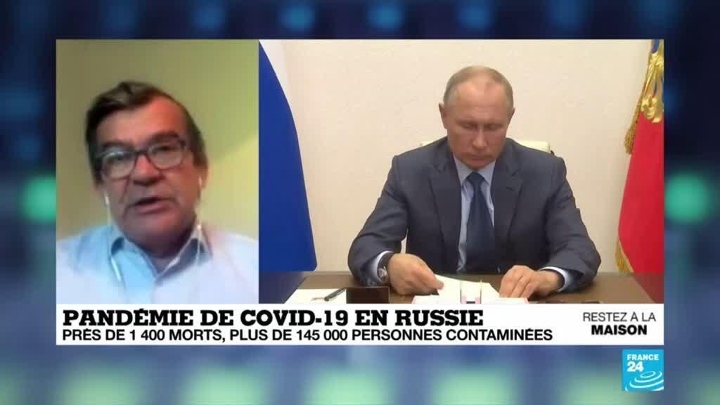 2020-05-05 09:10 Pandémie de coronavirus : La pandémie continue de progresser en Russie