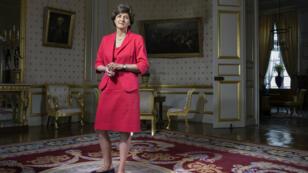 Sylvie Goulard, alors qu'elle était encore ministre des Armées, le 28 août 2017 à Paris.