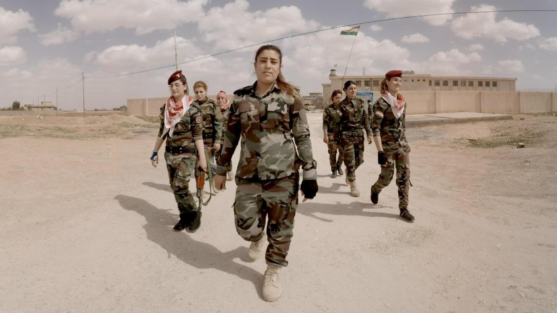 """""""The Sun Ladies"""" : un documentaire en réalité virtuelle sur les femmes combattantes kurdes contre l'État islamique."""