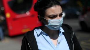 تفشي فيروس كورونا في بريطانيا. لندن 14 أبريل/نيسان 2020.
