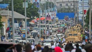 Un kamikaze conduisant une voiture s'est fait exploser au milieu du marché, à une heure de grande fréquentation, tuant au moins 20 personnes.