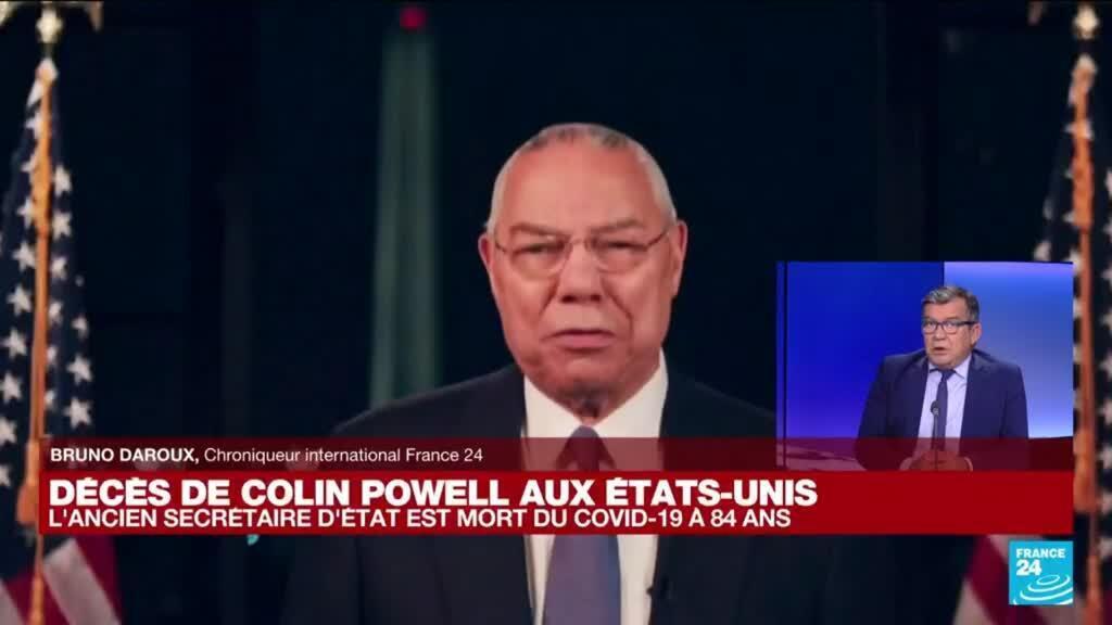 2021-10-18 16:01 USA : décès de l'ancien secrétaire d'Etat Colin Powell des suites du Covid-19
