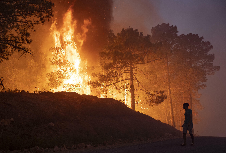 Incendie Maroc