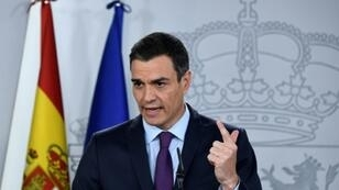 Spain's draft budget contains a rise in investment in Catalonia, whose regional government wants independence but whose lawmakers in the national parliament are crucial for Prime Minister Pedro Sanchez's (pictured December 2018) minority government