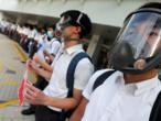 À Hong Kong, les lycéens forment des chaînes humaines en soutien à la contestation