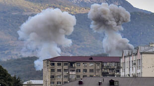 Shelling continued in Karabakh capital Stepanakert on Friday