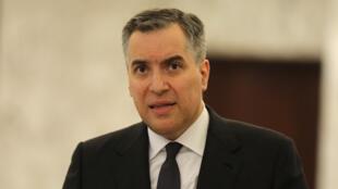 رئيس الحكومة اللبناني المكلف مصطفى أديب