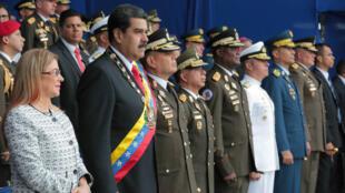 El presidente de Venezuela, Nicolás Maduro, acusó al mandatario venezolano, Juan Manuel Santos por el incidente registrado el sábado 4 de agosto en Caracas.