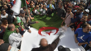 Algeria was rocked by months of anti-government protests last year