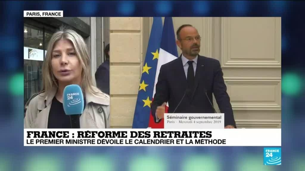 Calendrier Pension.Edouard Philippe Unveils The Calendar And Method Of Pension