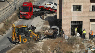 قوات إسرائيلية تهدم مباني فلسطينية بمنطقة صور باهر جنوب القدس - 22 يوليو/تموز 2019