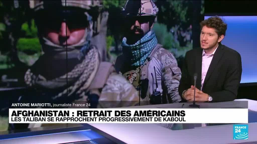2021-07-02 12:03 Retrait des troupes américaines d'Afghanistan : les Taliban se rapprochent progressivement de Kaboul