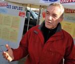 Philippe Poutou est bien placé pour devenir le candidat du NPA. (Photo : AFP)